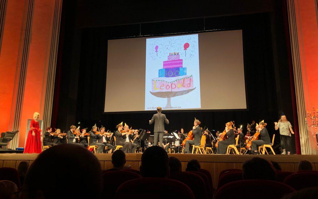Geburtstagsfeier bei Mozarts
