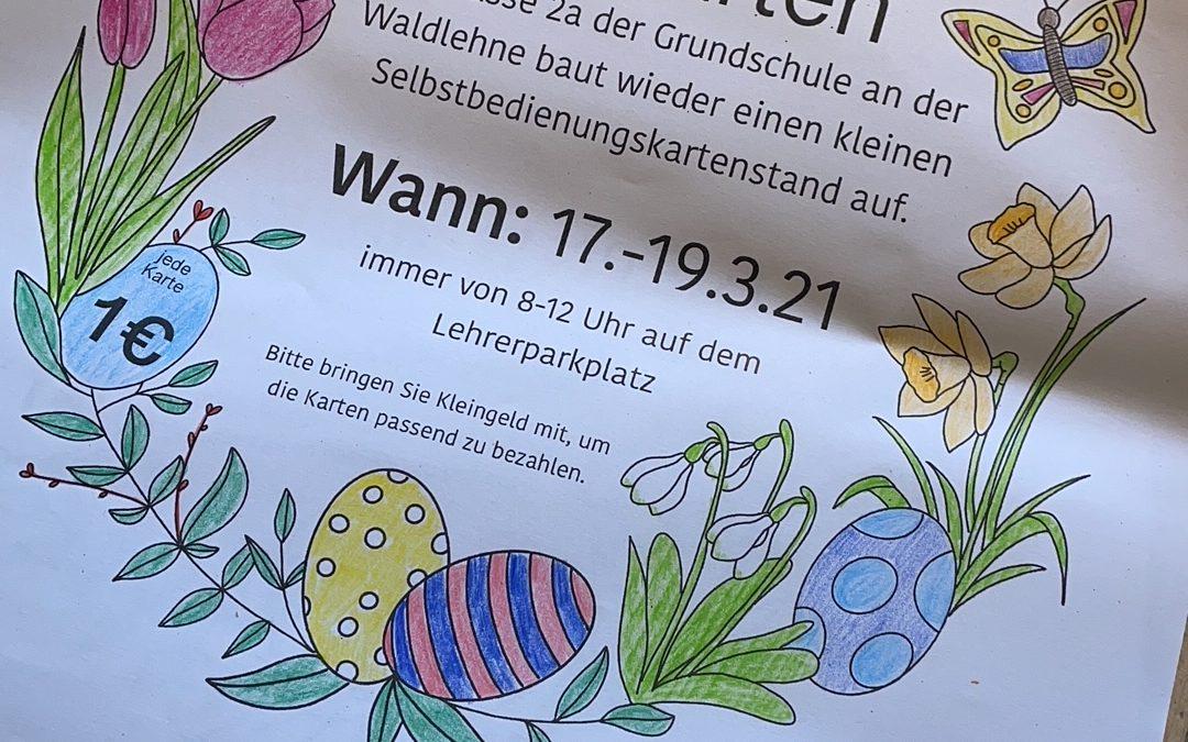 Osterkartenverkauf