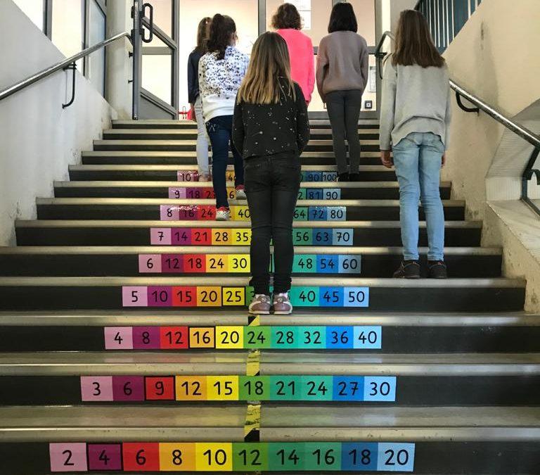 1×1 Treppe